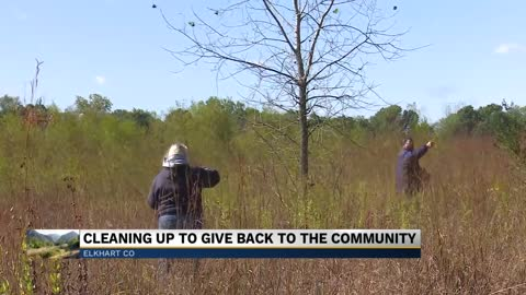 Volunteers help care for the Boot Lake Nature Preserve in Elkhart